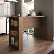 Bancada para Cozinha 3 Prateleiras 150cm x 97cm Luciane Móveis -