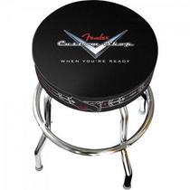 Banco Barstool 24 Custom Shop Pinstripe Preto Fender -