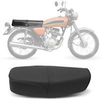 Banco Completo Moto Honda CG 125 1977 a 1982 Piraval Preto -