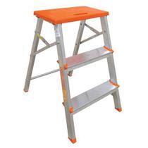 Banco escada de aluminio 3 degraus -botafogo -