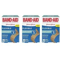 Band Aid Curativo Flexível C/20 (Kit C/03) -