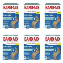 Band Aid Curativo Flexível C/20 (Kit C/06) -