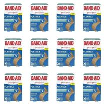 Band Aid Curativo Flexível C/20 (Kit C/12) -