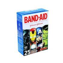 Band Aid Curativo Infantil Liga Da Justiça C/25 -