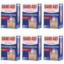 Band Aid Curativo Transparente C/40 (Kit C/06) -
