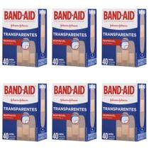 Band Aid Curativo Transparente C/40 (Kit C/06) -