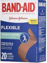Band-aid flexvel - 20 unidades - Johnson'S