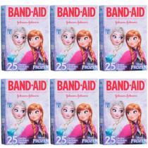 Band Aid Frozen Curativo Infantil C/25 (Kit C/06) -