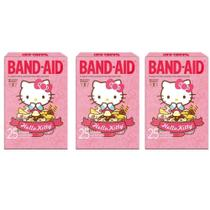 Band Aid Hello Kitty Curativos C/25 (Kit C/03) -