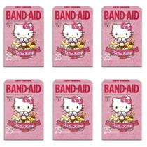 Band Aid Hello Kitty Curativos C/25 (Kit C/06) -