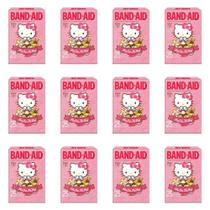 Band Aid Hello Kitty Curativos C/25 (Kit C/12) -