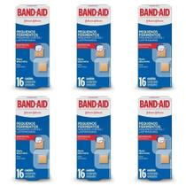 Band Aid Pequenos Ferimentos Curativo C/16 (Kit C/06) -