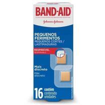 Band Aid Pequenos Ferimentos Curativo C/16 -