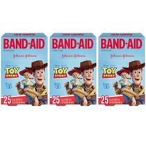 Band Aid Toy Story Curativo Infantil C/25 (Kit C/03) -