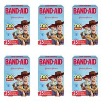 Band Aid Toy Story Curativo Infantil C/25 (Kit C/06) -