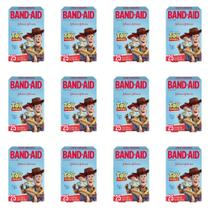Band Aid Toy Story Curativo Infantil C/25 (Kit C/12) -
