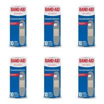 Band Aid Transparente Curativo C/10 (Kit C/06) -