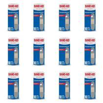 Band Aid Transparente Curativo C/10 (Kit C/12) -