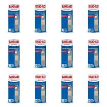 Band Aid Transparente Curativo C/10 (Kit C/12) -