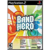 Band Hero - Play 2 - Original - Lacrado - Activision