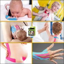 Bandagem Elástica Funcional Fita Kinesio Tape 5m Neuromuscular - Mbfit
