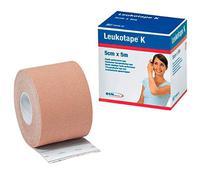 Bandagem Elástica Leukotape K 5cm x 5m Bege BSN -
