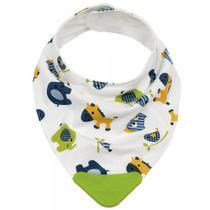 Bandana Baby Zoo Com Mordedor Verde - Buba Baby -