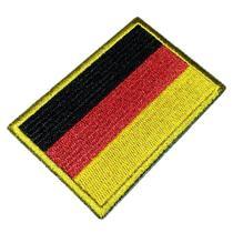 Bandeira Alemanha Patch Bordado Para Uniforme Camisa Kimono - Br44