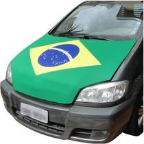 Bandeira Brasil Copa Mundo Capo Carro 110x150cm YDH-BR0017 - Commerce Brasil