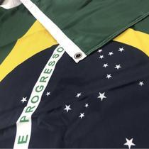 Bandeira Brasil Oficial ABNT 70x100cm Dupla Face - Bandeiras Blumenau