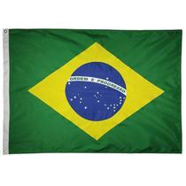 Bandeira do Brasil 22x 33cm -Náutica - Jc Bandeiras