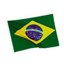 Bandeira do Brasil em Tecido 60cm x 95cm - Festabox