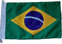 Bandeira do Brasil Oficial 22x33cm Poliéster Duplo - Ecco Bandeiras