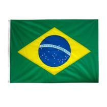 Bandeira do BRASIL, Padrão Oficial 2P (0.90 x 1.28m), Brasões Frente e Verso. - Rn Bandeiras