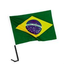 Bandeira do Brasil para Carro em Tecido 30x45cm - Festabox