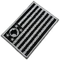 Bandeira Estado São Paulo Brasil Patch Bordada Termo Adesivo - Br44