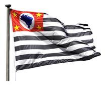 Bandeira Oficial Do Estado De São Paulo 2 Panos - Jc Bandeiras