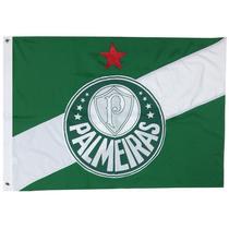 Bandeira Oficial do Palmeiras 256 x 180 cm - 4 Panos - JC Flamulas