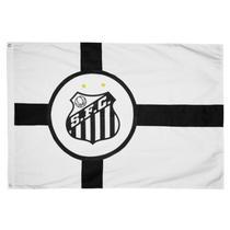 Bandeira Oficial Santos 2 Panos - Jc Bandeiras