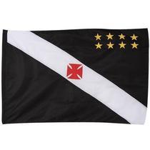 Bandeira Torcedor Oficial - 2 Panos 1,20 X 0,80 Cm. Vasco - Bc Sartori