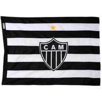 Bandeira Torcedor Oficial - 2 Panos 1,30 X 0,90 Cm. Atlético - Jc Flâmulas