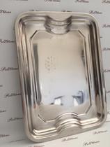 Bandeja de inox retangular 41x30cm ox prime na caixa - Wellmix