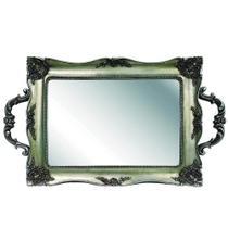 Bandeja Retangular Espelhada - 25 x 41 x 4 cm - Dayhome -
