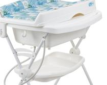 Banheira Burigotto Splash Peixinhos Azul -
