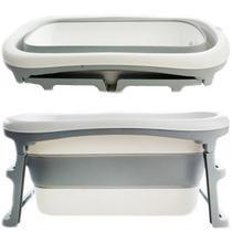 Banheira de Adulto e Bebê Luxo Dobrável com 180 Litros A Partir de 10 meses a 80kg - Kababy - K Baby