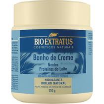 Banho De Creme Neutro Proteínas Do Leite 250g Bio Extratus -