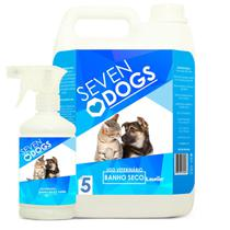 BANHO SECO SEVEN DOGS 2BB X 5l - Launer Linha Seven