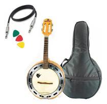 Banjo Profissional Eletrico Marquês Baj98 Madeira Solida -