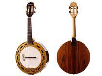 Banjo rozini profissional elétrico jacaranda rj12elnj -