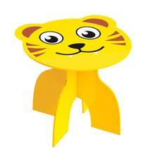 Banquinho de Madeira Animal Kids Tigre - Junges -
